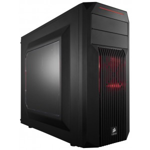 """Corsair SPEC Series 02 Chassis ATX Compact Gaming Chassis - 2x 5.25"""" & 4x 3.5""""/2.5"""" Bays"""