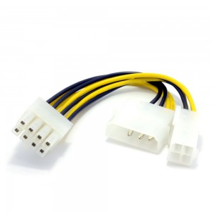 MOLEX 8 PIN CONVERTER FOR GRAPHICS CARD