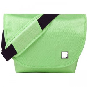 B-COLORS CHOCOLATE GREEN BAG FOR CAMERA