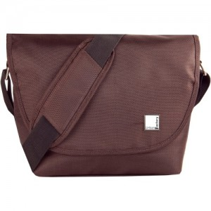 B-COLORS BROWN BEIGE BAG FOR CAMERA & LENS