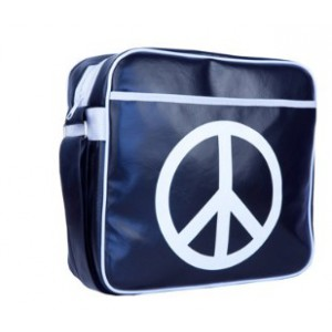 URBAN FACTORY PEACE AND LOVE 13 INCHES BAG