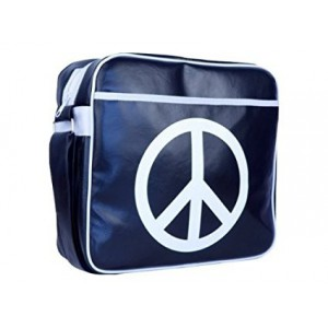 URBAN FACTORY PEACE AND LOVE 16 INCHES BAG