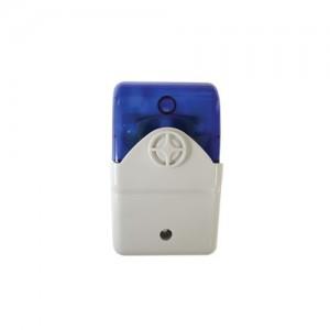 Securi-Prod Alarm Siren Strobe Blue 12VDC