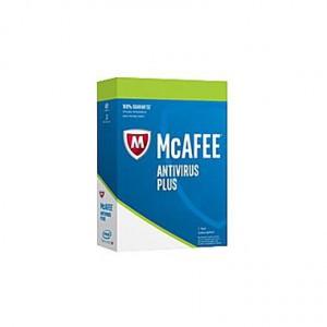 McAfee Antivirus Plus Physical Activation Card 1 year (English)