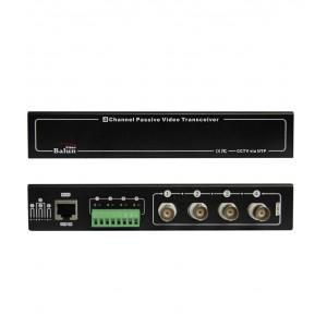 Folksafe 4 Channel Passive HD Balun  FS-HDP4604
