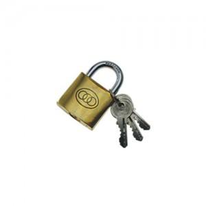 Padlock - TriCircle 32mm Brass