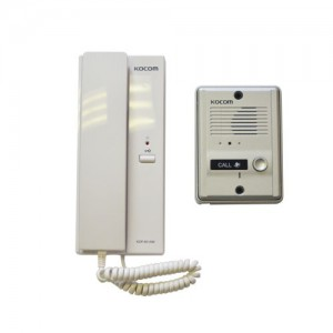 KOCOM 1-1 Audio Intercom Kit 220VAC