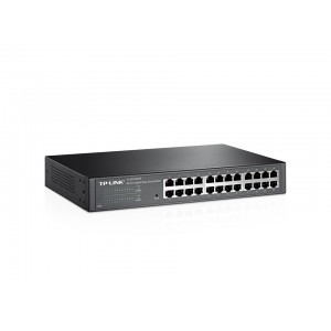 TP-LINK 24 Port Gigabit Easy Smart Switch, 24x Gbe RJ45 Ports, MTU/Port/Tag-based VLAN, QoS, IGMP Snooping