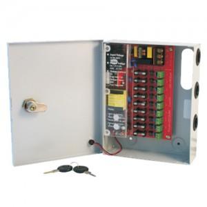 PSU - CCTV 9Way 5 Amp Distribution Box