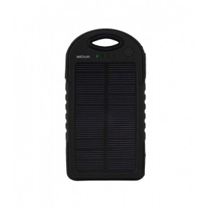ASTRUM PB500 POWER BANK 5000MAH SOLAR 2USB
