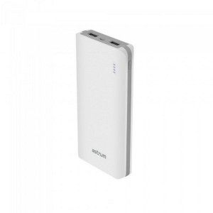 ASTRUM PB120 POWER BANK 10000MAH POLY 2A WHITE