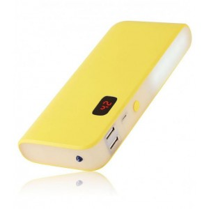 ASTRUM PB140 POWER BANK 10400MAH TORCH 2A YELLOW