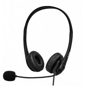 Astrum HS750 HEADSET FLEXI MIC USB POUCH BLACK