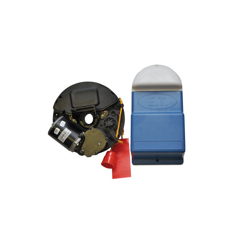 Dc blue roll up gdo kit incl 2 x 6 button tx for Garage door motor kit
