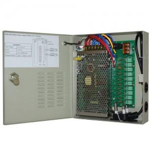Power Supply CCTV 10 Way 12V 10Amp