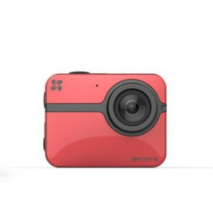 EZVIZ S1 ACTIONCAM 16MP 1080P 60FPS RED