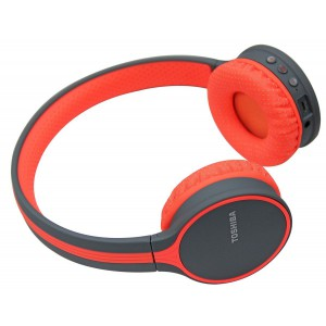 Toshiba Wireless Headphone Orange