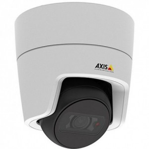 AXIS M3105-LVE Day/night, compact mini dome in a vandal-resistant, outdoor-ready, flat-faced design.