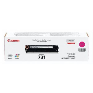 Canon 731 Magenta Cartridge with yield of 1500 pages