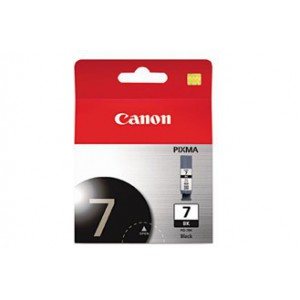 Canon PGI-7 Black Cartridge with yield of 570 pages