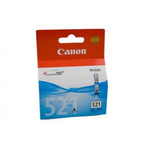 Canon CLI521 Cyan Single cartridge with yield of 446 pages