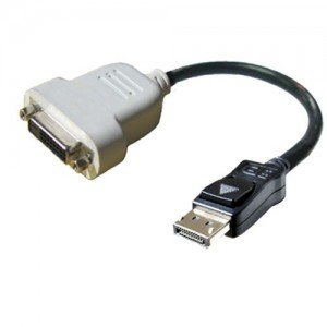 Dell Adapter - DisplayPort to DVI - Single Link