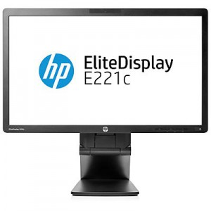 HP EliteDisplay E221 21.5 LED Backlit Monitor
