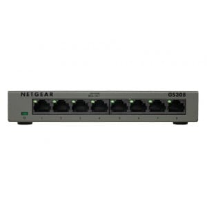 NETGEAR PROSAFE GS308 - 8 PORT GIGABIT SWITCH