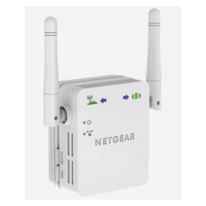 NETGEAR WN3000RP - UNIVERSAL WIFI RANGE EXTENDER UP TO 300MBPSWALL PLUG EDITION