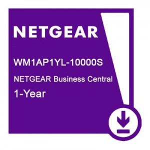 NETGEAR BUSINESS CENTRAL CLOUD MANAGEMENT FOR 1 ACCESS POINTS 12 MONTHS