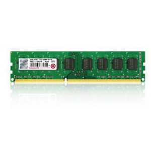 Transcend 4GB DDR3-1333 240-Pin Desktop DIMM : CL9, 1.5V, Top tier name-brand DRAM chips and materials
