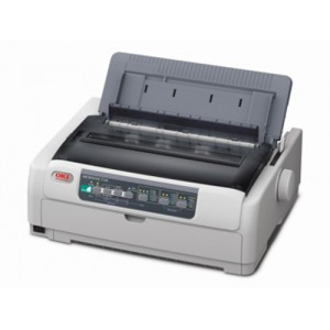 OKI ML5720 Dot Matrix Printer - 9 PIN A4 / 80 Column up to 700 cps 8 million caracter ribbon Low Tear Capability Character Pitch; 10/12/15/17.1/20 cpi Up to 240 x 216 dpi Emulation; Epson FX ESC/P IBM