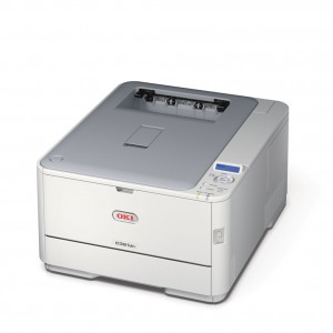 OKI C321DN - Print up to 22ppm mono & 20ppm colour Up to 1200 x 600 dpi ProQ2400 Multi-level Technology Hi-Speed USB 2.0 10/100 BaseT Ethernet 128MB memory 532MHz Processor 100-sheet multipurpose tray