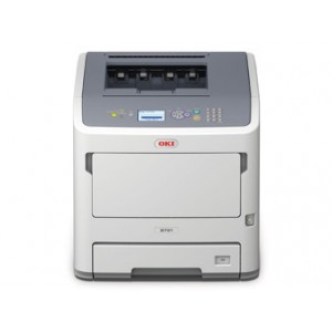 OKI B721dn WG Mono Lazer A4 - print speed of 47 ppm black 1200 x 1200 dpi Direct PDF printing 256MB memory expandable to 768MB Optional 160GB HDD 800 MHz processor 1 Gigabit Ethernet 1 Hi-Speed USB 2.