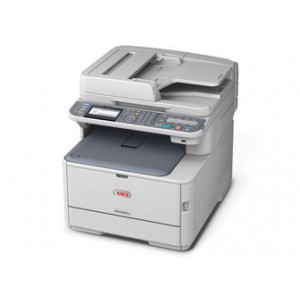 OKI C562dnw - 4-IN-1; Print Copy Scan Fax: Print up to 30ppm mono and 26ppm colour Up to 1200 x 600 dpi ProQ 2400 Multi-level USB 2.0 Device USB 2.0 Host IF built-in 10/100 Fast Ethernet Memory 256MB