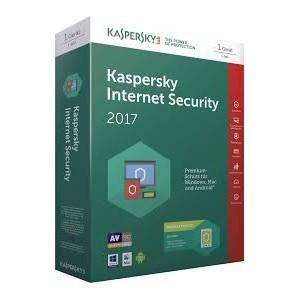 Kaspersky Anti-Virus 2017 2 User 1 Year DVD NEW