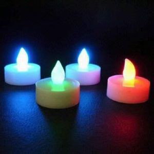 Tea Light LED candle *Changes Colours*