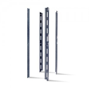 NetShelter SX 42U 23 EIA Mounting Rails for 750-mm Wide Enclosures Square Holes Qty 4