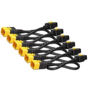Power Cord Kit (6 ea) Locking C19 to C20 0.6m