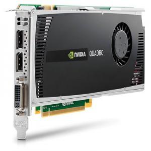 Nvidia Quadro 4000 1GB PCI GFX Card - 3D