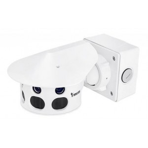 Multi- Sensor 12MP 180 Panoramic View IP66 IK10