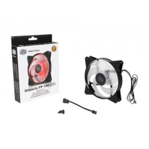 CM SILENCIO 140MM CHASSIS COOLING FAN - RED LED