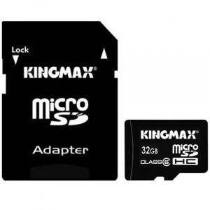 KINGMAX 32GB MICRO SDHC CLASS 6