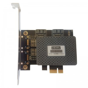 Unbranded PCIE001 PCI-e to Dual SATA 3.0 Expansion Adaptor Card