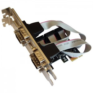 Unbranded 4SIP-E 4 Port Serial PCI-e Card