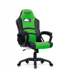 El33t Essential Gaming Chair Black/Green