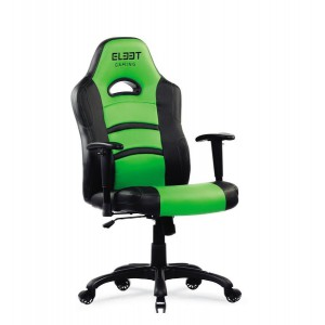 El33t Expert Gaming Chair Black/Green