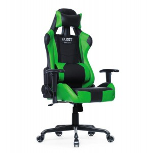 El33t Elite Gaming Chair Black/Green