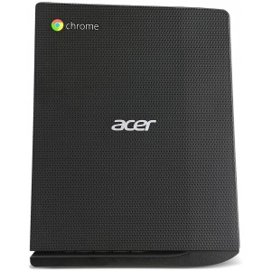 Acer DT Chromebox Celeron 3215U 4GB 16GB Flash Card Reader Vesa Mount USB K & M Chrome