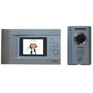 """COMMAX 4.3"""" Open Voice Colour Video Intercom CDV-43Q/DRC-4MC"""